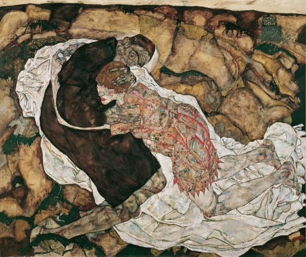 Egon Schiele, La fanciulla e la morte