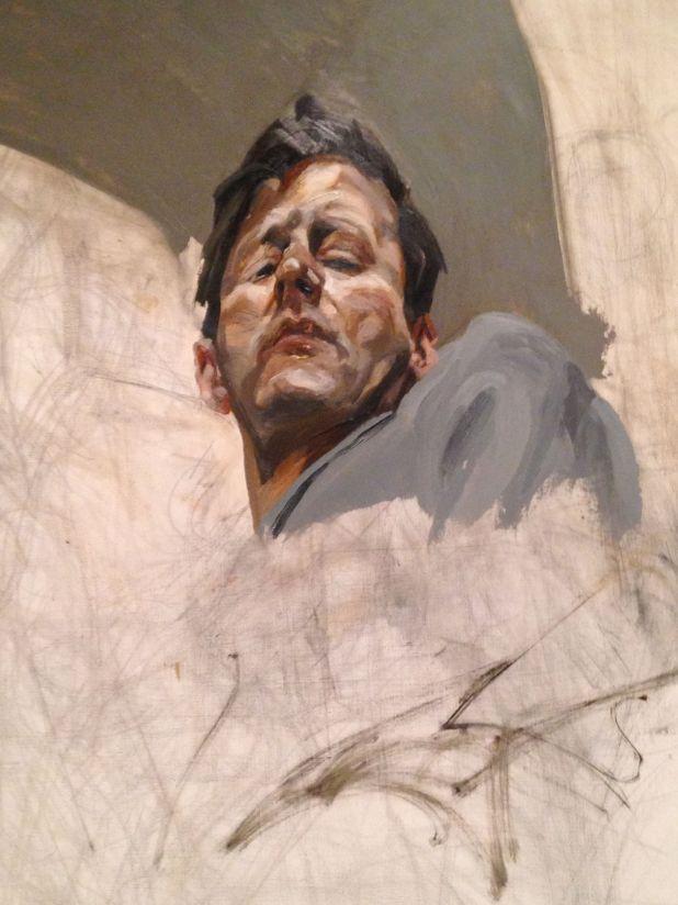 Lucian Freud, Autoritratto incompiuto