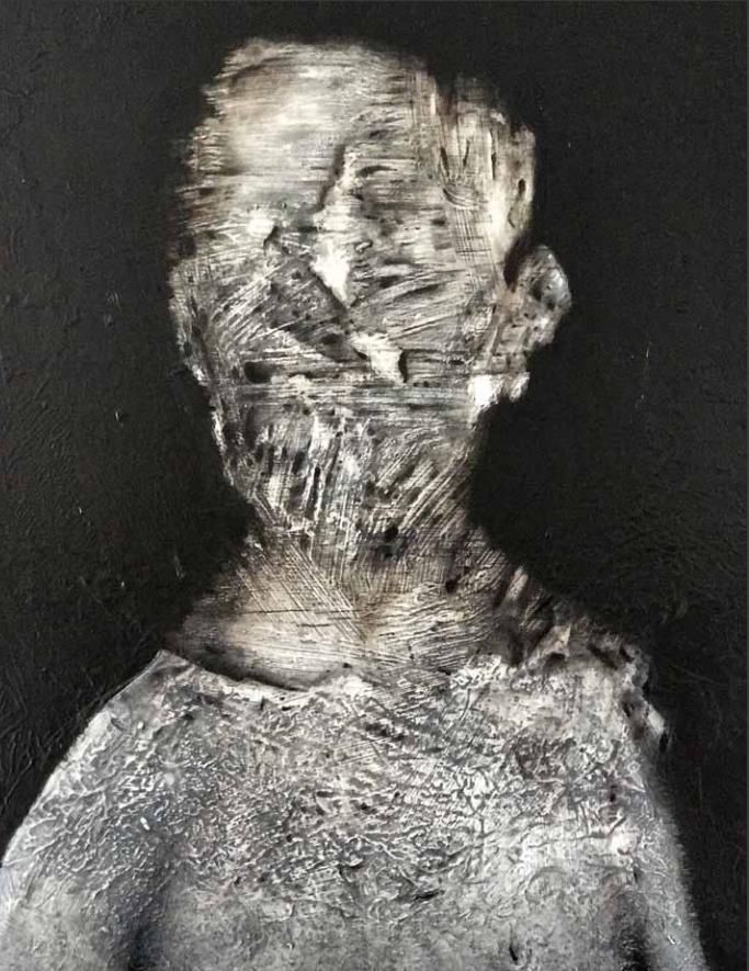 Un'opera di Claudio Laudani